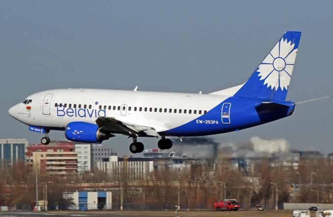 "Boeing 737-500 компании""Белавиа"""