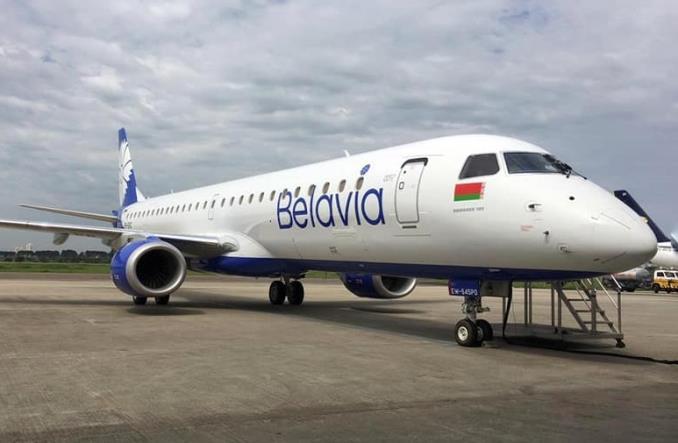 """Новый Embraer E195 для """"Белавиа"""""""